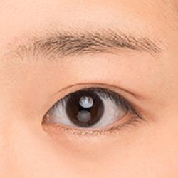 メザイク貼り付け後はゆっくり目を開ける
