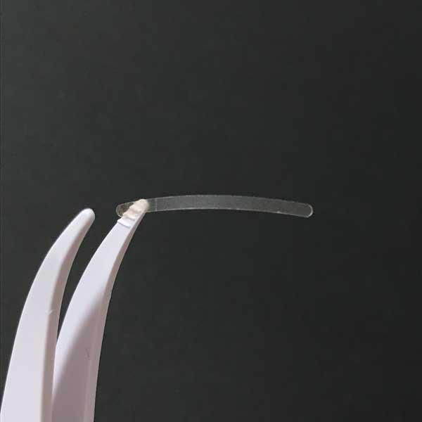 セリア(スリム幅で自然なふたえ)のびるアイテープは幅1.5mm