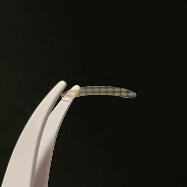 ダイソーのふたえテープの絆創膏ポイントタイプは特殊加工のプリント