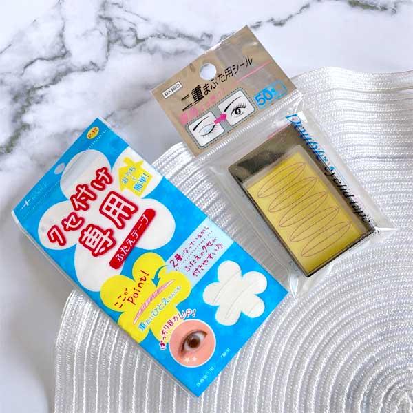 癖付け専用のテープは厚めだと使いやすい